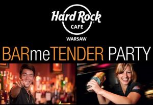 BARme TENDER Party Hard Rock Cafe