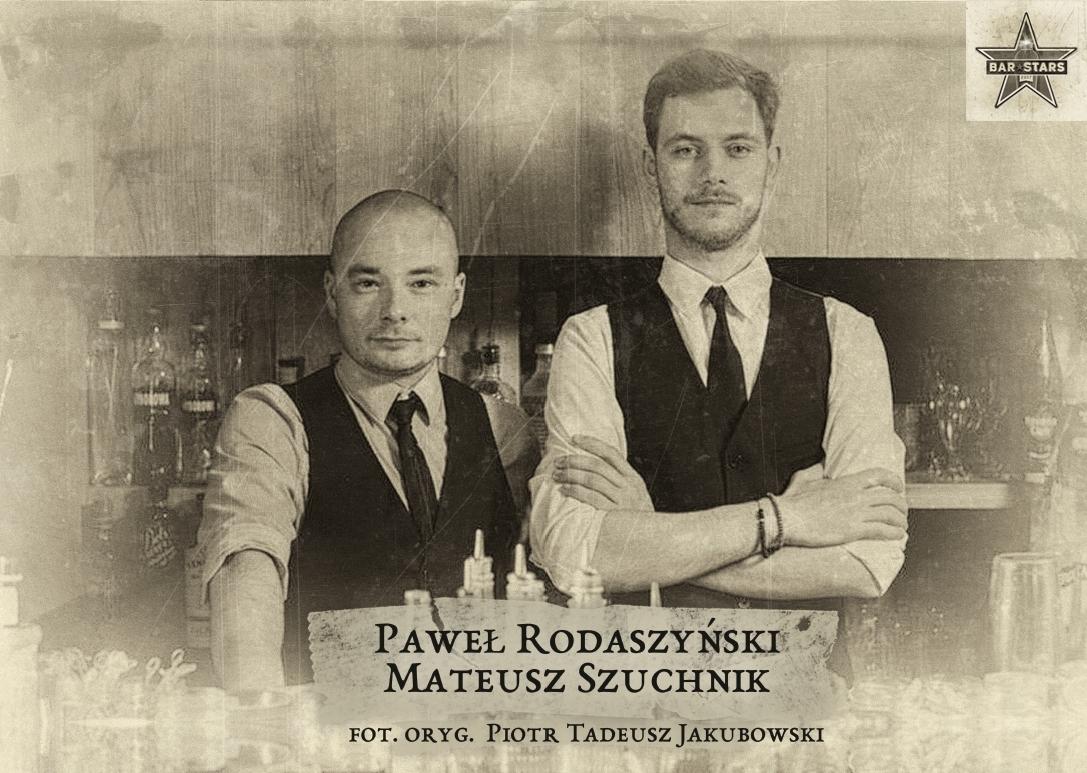 Paweł Rodaszyński i Mateusz Szuchnik